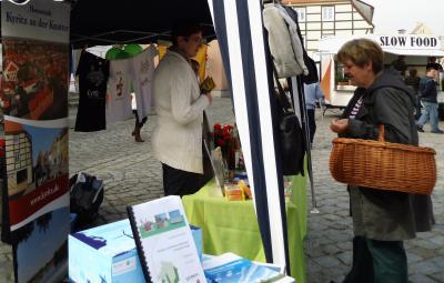 Foto zu Meldung: Tourismusverein auf der Hengstparade und auf dem Markt der regionalen Möglichkeiten