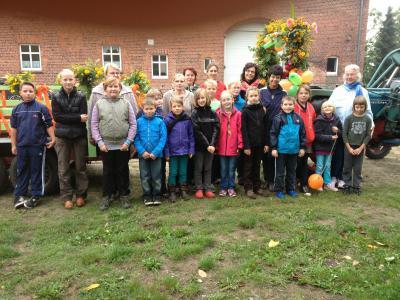 Foto zur Meldung: Projekttag in Rühstädt