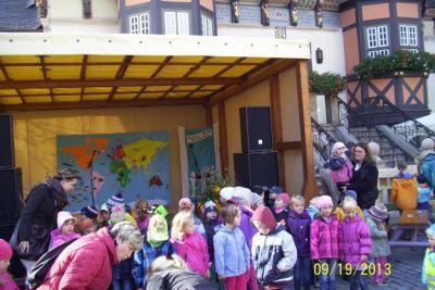 Foto zur Meldung: Weltkindertag in Wernigerode