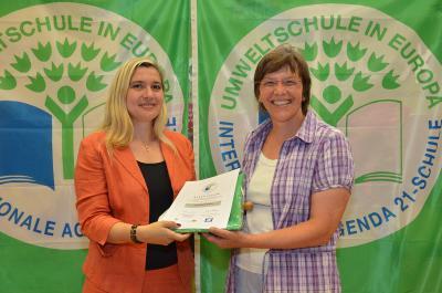 """Foto zu Meldung: Grundschule Röslau erhält den Titel """"Umweltschule in Europa 2013"""""""