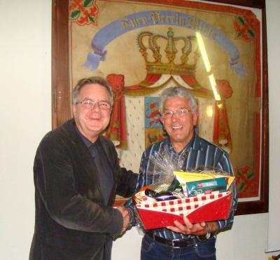 Den Dank der Gemeinde an den scheidenden Eckard Krause überbrachte Bürgermeister Rainer Lämmerhirt.