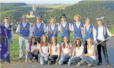 Foto zur Meldung: Ortsgemeinde:Kirmesgesellschaft in Burgschwalbach stehen anstrengende Tage bevor
