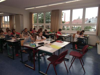 Foto zur Meldung: Mathematikwettstreit an unserer Schule