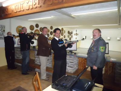 Foto zur Meldung: Die Bergschützen übernehmen Vorreiterrolle im Schützengau Viechtach