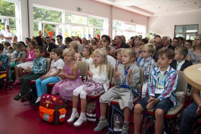 Foto zur Meldung: Mein erster Schultag - 31. August 2013