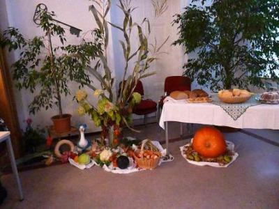 Foto zur Meldung: Erntedankfrühstück im OT Frose