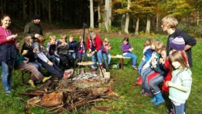 Foto zur Meldung: Herbstferien in Hort und FGTS Alsweiler