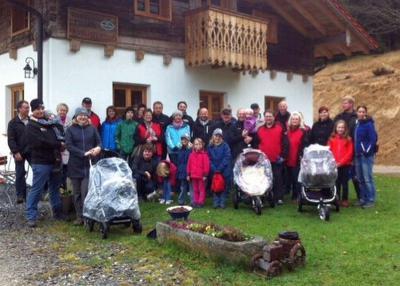 Foto zur Meldung: Wanderung zum Prellerhaus
