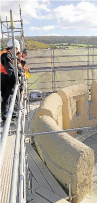 Foto zur Meldung: Ortsgemeinde: Burg Schwalbach wird ab Montag entrüstet