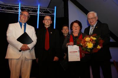 Foto zur Meldung: Seit 1963 aktive Sängerin im Gemischten Chor des Gesangvereins Wenings