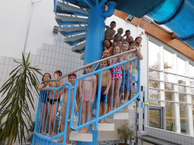 Foto zur Meldung: Noch mehr Schwimmer an der Elbtalgrundschule