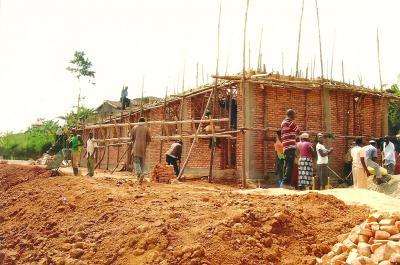 Baustelle Nyamugali im Oktober 2013