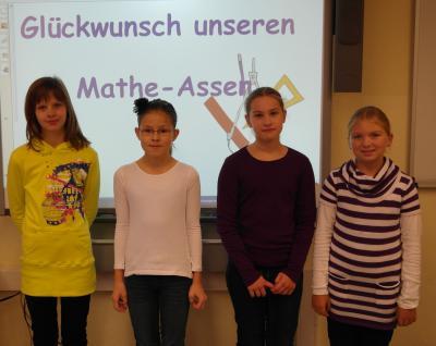 Foto zur Meldung: Mathe-Asse