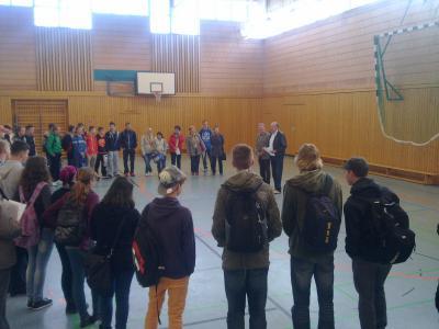 Foto zur Meldung: Festwoche: Projekttag des OSZ  mit der Dreiklang-Oberschule, Schwedt