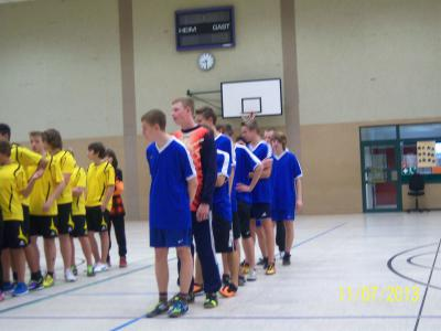 Foto zur Meldung: Jugend trainiert für Olympia – Kreisfinale Handball