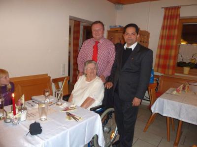 Foto zu Meldung: Zum 80. Geburtstag von Anna Kraus