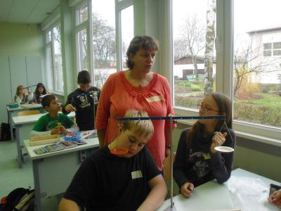 Foto zur Meldung: Talentetag der 6.-Klässler aus der Region an der Oberschule in Glöwen