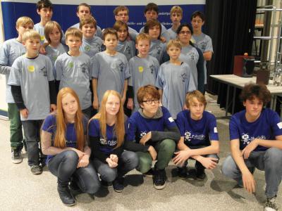 Foto zur Meldung: FLL-Wettbewerb in Eberswalde