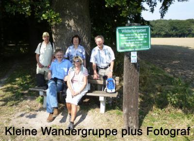 Foto zu Meldung: Rückschau der Wandersparte 2013