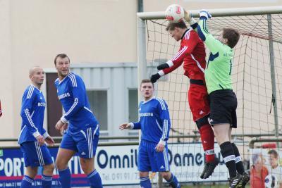 Foto zu Meldung: Landesliga: SV Buckenhofen - FC Vorwärts Röslau 1:0 (0:0)
