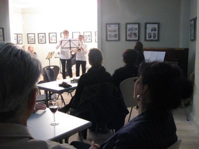 Foto zur Meldung: Kreismusikschüler begeisterten mit klassischem Konzert