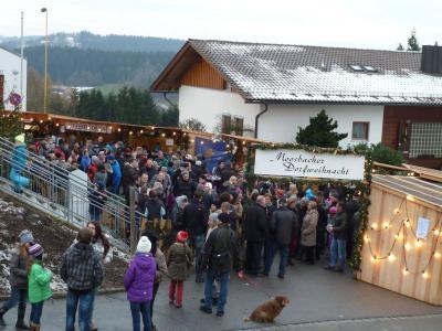 Foto zur Meldung: Die 16. Moosbacher Dorfweihnacht war wieder ein Riesen Erfolg