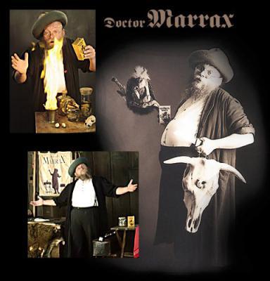 Foto zur Meldung: Kulturbühne Ladbergen - Doctor Marrax