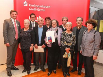 Verleihung des Deutschen Bürgerpreises (Foto: Kreissparkasse Groß-Gerau)