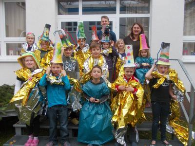 Foto zur Meldung: 1. Radionacht in der Elbtalgrundschule