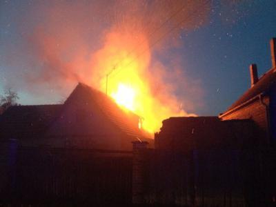Foto zur Meldung: Feuer in Neuplatendorf