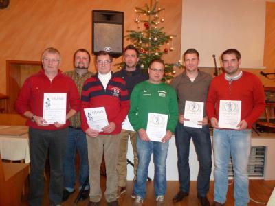 Foto zur Meldung: Der SV Moosbach hat ein sehr erfolgreiches Jahr hinter sich