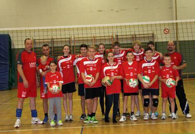 Foto zu Meldung: Volleyballer machten Jahresabschluss zum Fest