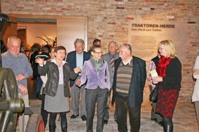 Foto zu Meldung: Brandenburgs Kulturministerin besucht BARNIM PANORAMA