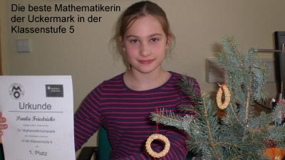 Foto zur Meldung: Erfolgreiche Mathematikerin