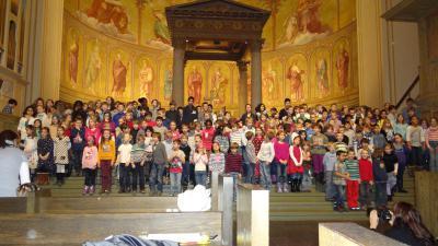 Foto zur Meldung: Weihnachtssingen in der Nikolaikirche für einen guten Zweck