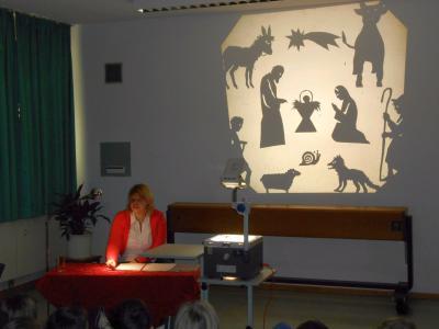 Foto zur Meldung: Advent an der Grundschule Prackenbach