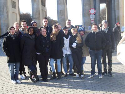 Foto zur Meldung: Deutsch-Französischer Lehrlingsaustausch Schuljahr 2013/14 in Deutschland