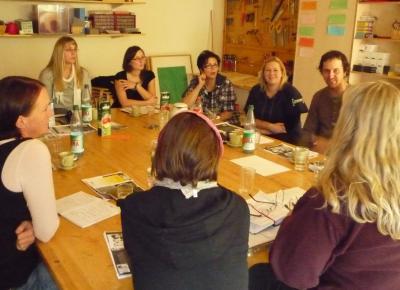 Foto zu Meldung: Projekt Familienarbeit in Johannstadt läuft aus