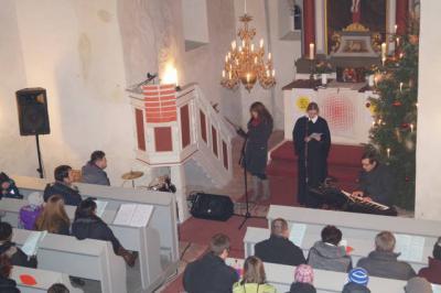 Neujahrsgottesdienst geleitet von Pfarrerin Ramona Rohnstock
