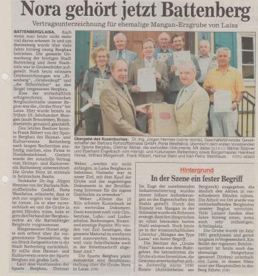 Foto zu Meldung: Nora gehört jetzt Battenberg