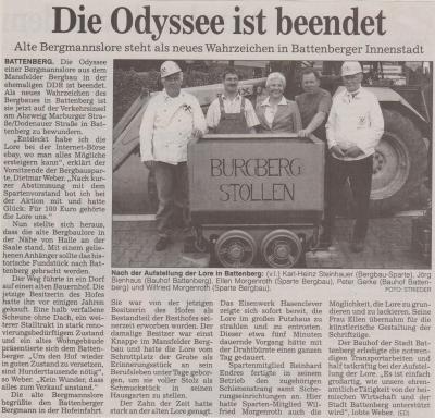 Foto zu Meldung: Die Odyssee ist beendet
