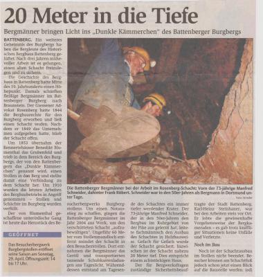 Foto zu Meldung: 20 Meter in die Tiefe