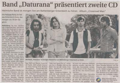 "Foto zu Meldung: Band ""Daturana"" präsentiert zweite CD"