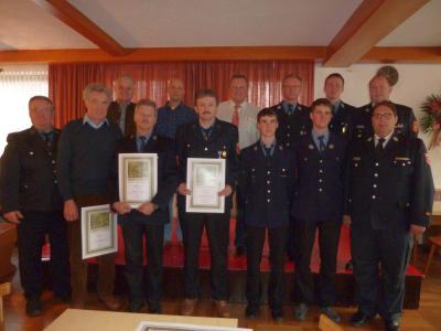 Foto zu Meldung: Rückblick auf ein bedeutendes Jahr bei der Feuerwehr
