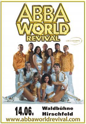 Vorschaubild zur Meldung: ABBA-World-Revival bei Internationaler Bühnenshow auf der Waldbühne Hirschfeld