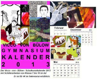 Foto zur Meldung: Vicco-von-Bülow-Schulkunstkalender erschienen