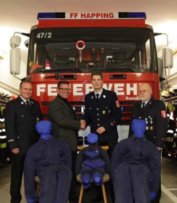 Foto zur Meldung: Neue Rettungspuppen für die Feuerwehr Happing