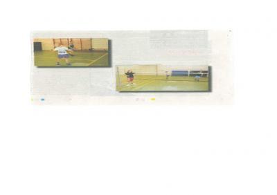 Foto zu Meldung: Willkommen beim Badminton
