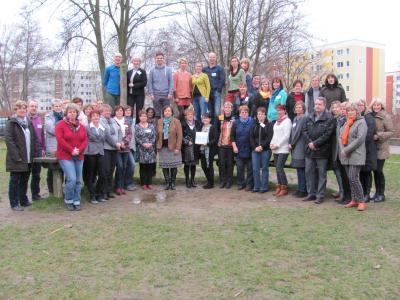 Foto zur Meldung: IGS Grünthal Stralsund als Ganztagsschule gewürdigt
