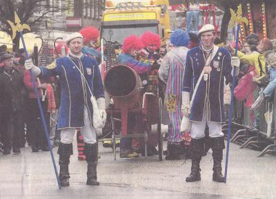 Foto zur Meldung: Rosenmontag: Marne wird zum Tollhaus